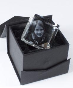 Photo Crystal 3D 40mm Diamond Gift Box