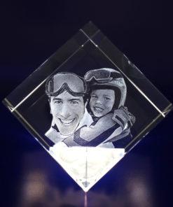 Photo Crystal 3D 80mm Diamond