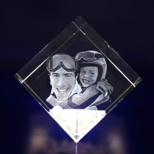 Photo Crystal 3D 80mm Diamond