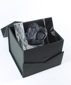 Photo Crystal 80mm Diamond Gift Box