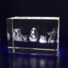 Photo Crystal 3D 120mm Rectangle