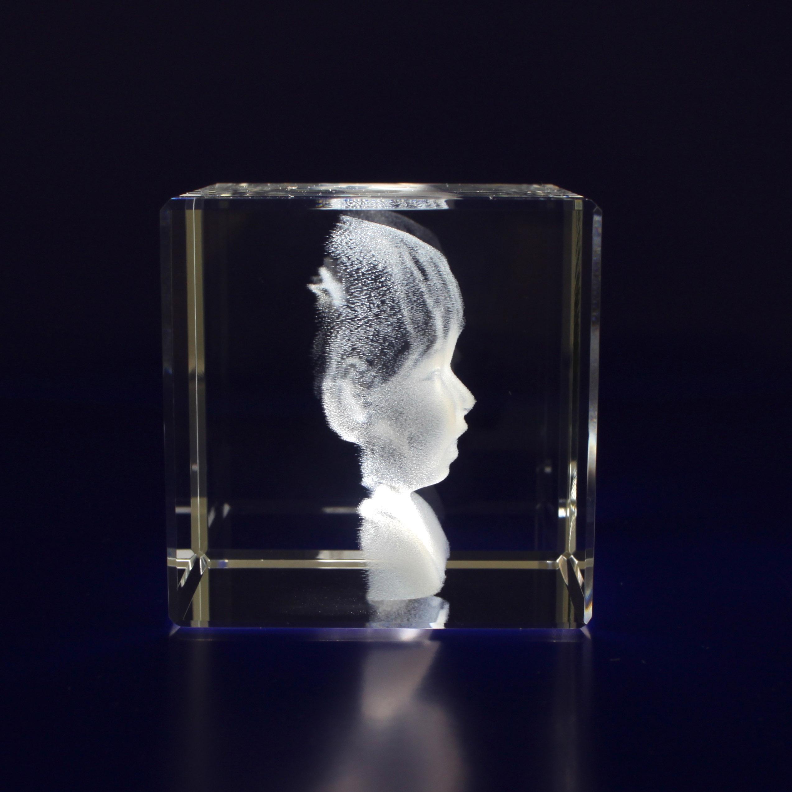 Photo Crystal Cube Medium