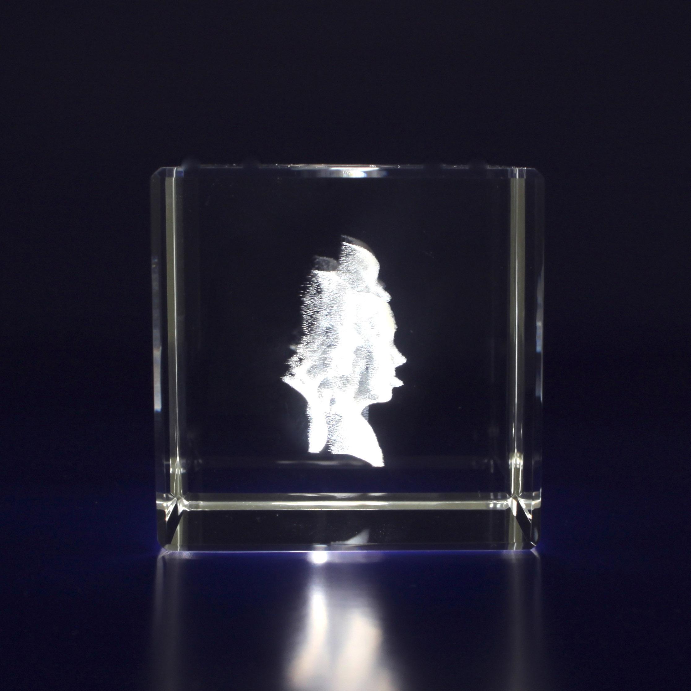 Photo Crystal Cube Small