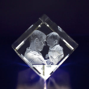 Photo Crystal 3D Diamond 60mm