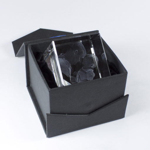 Photo Crystal 3D Diamond 60mm Gift Box